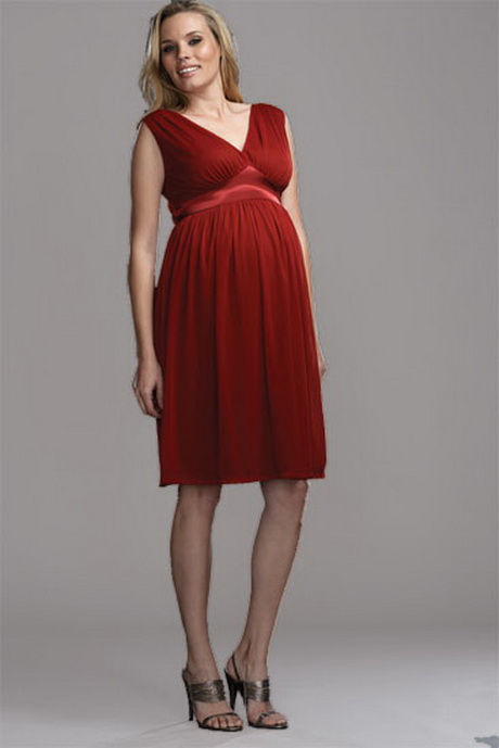 Party dresses for pregnant women