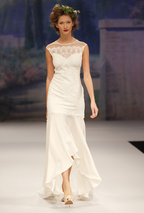 Art Deco bridal dress - CLAIRE PETTIBONE Sophie