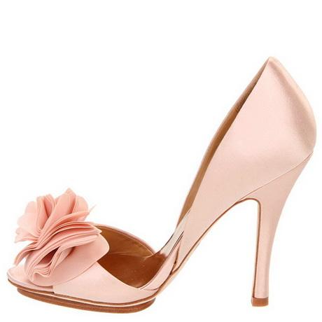 pink heels wedding