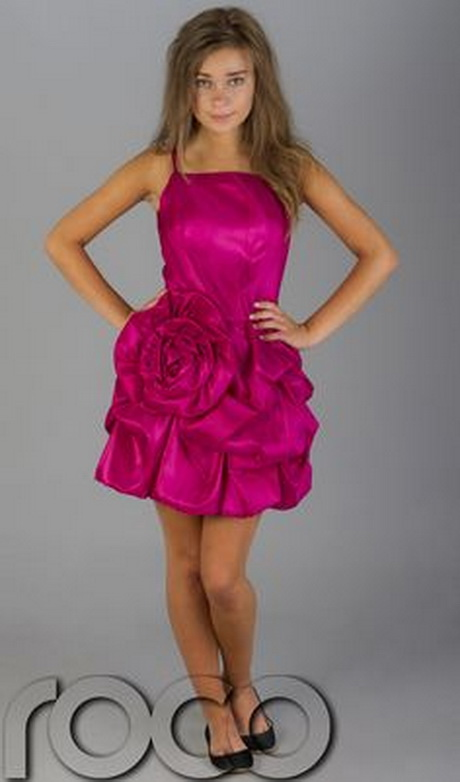 Pink Party Dresses For Teenagers
