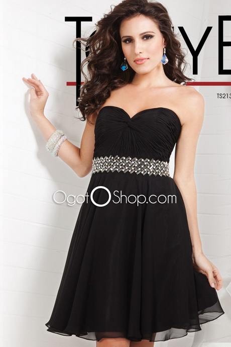 Plus Size Black Party Dresses Cheap 51