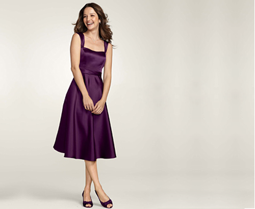 satin dress How To Find Plus Size Bridesmaid Dresses