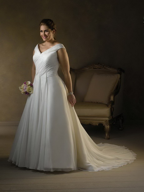 Plus size bridesmaid dresses cheap for Discount plus size wedding dresses