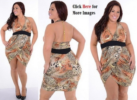 Young Plus Size Party Dresses 84
