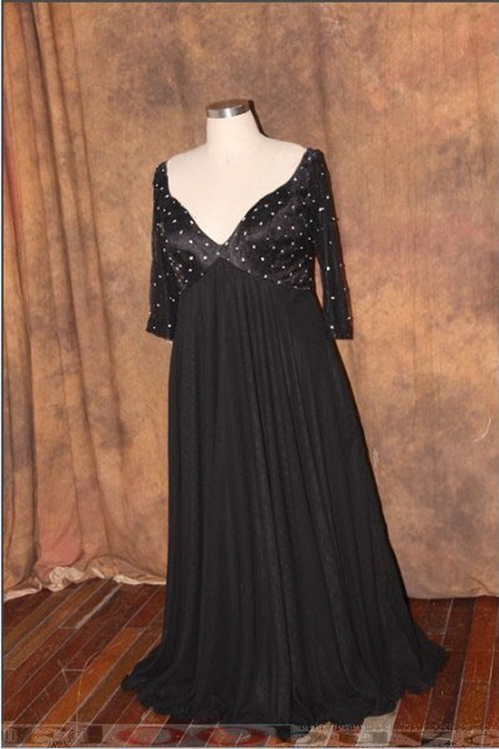 plus size dresses nighttime