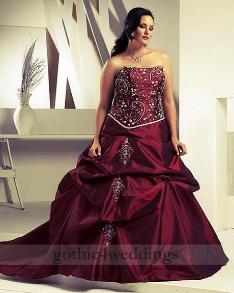 Gothic Plus Size Wedding Dresses: Plus Size Gothic Dresses