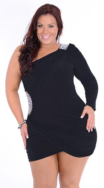 Plus size nightclub dresses