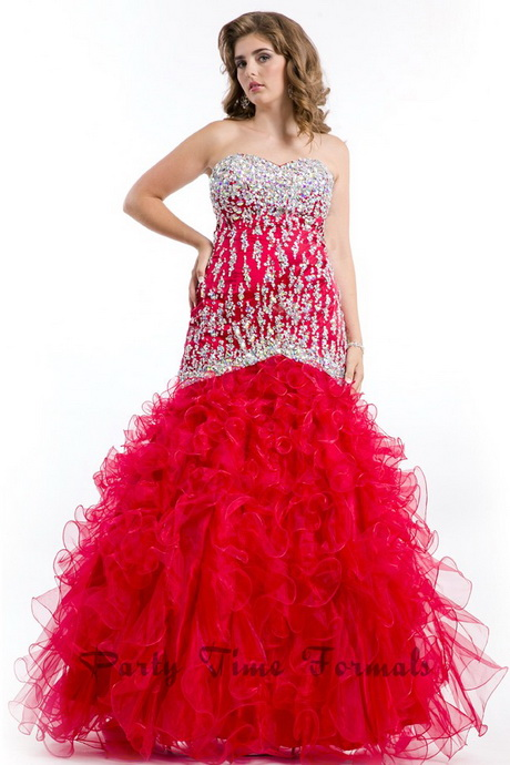 plus size prom dresses 2014