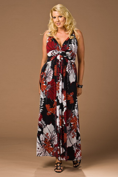 Plus Size Summer Maxi Dresses