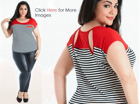 Plus size funky clothes online