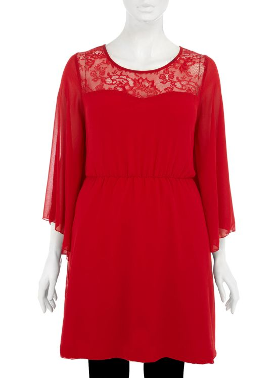 evans red dress The Best UK Stores for Plus Sizes