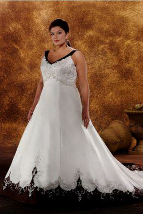 Plus size wedding dresses with color for Wedding dress with color accent