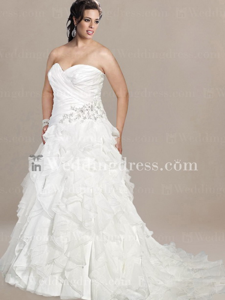 Plus Wedding Dress