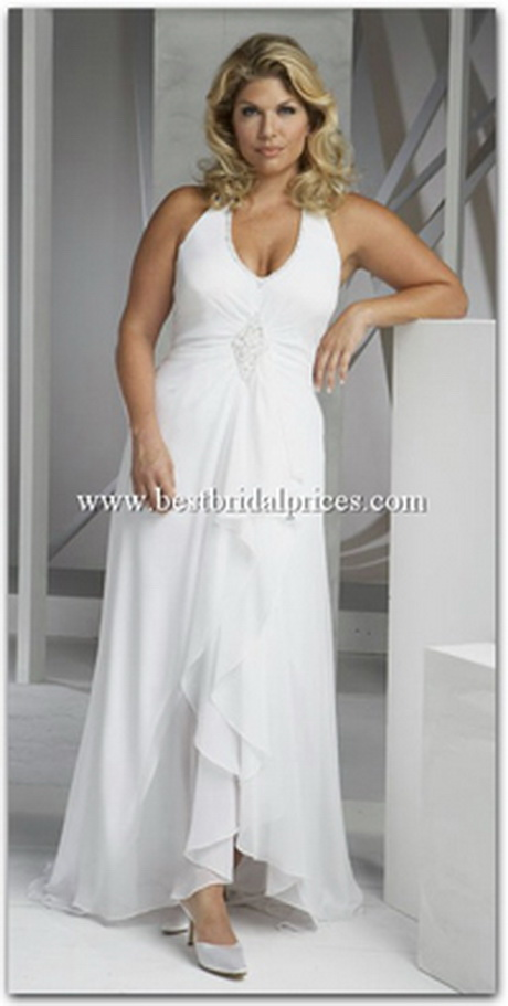 Plus size beach wedding dresses for Beach wedding dresses for plus size
