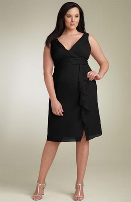 Классические платья для полных женщин