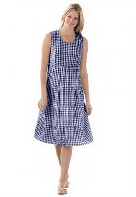 Cotton Plus Size Dresses 21