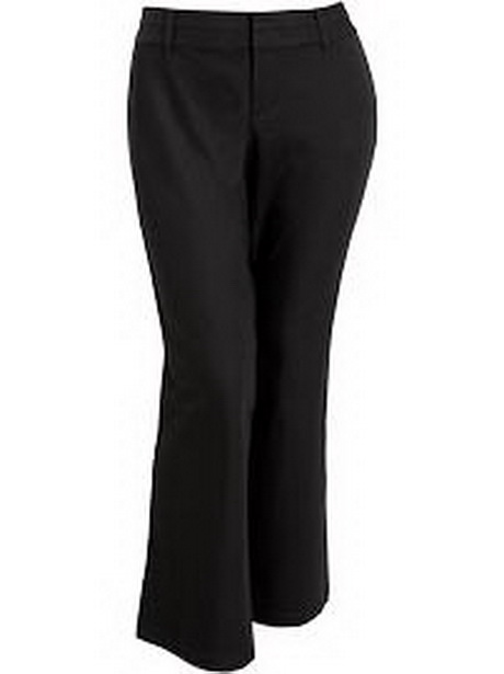 Plus Size Dress Black Pants 118