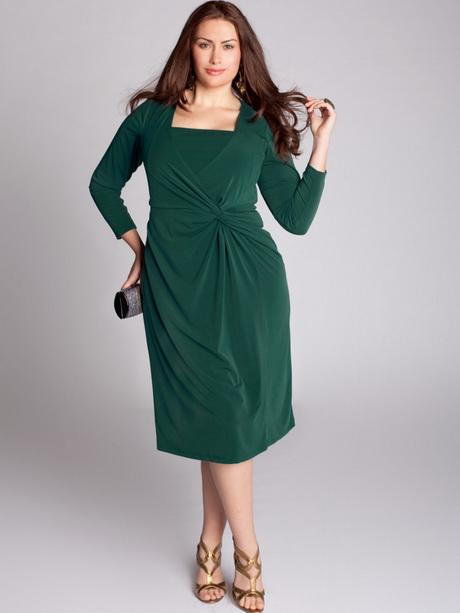 Plus Size Green Dresses 121