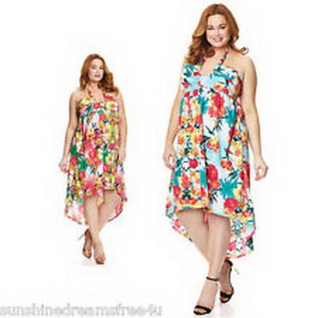 Plus Size Hawaiian Dresses