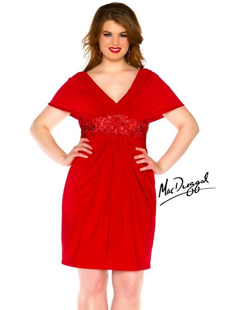 v back plus size dress