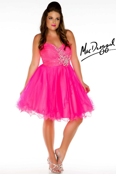 Short Plus Size Prom Dresses 114