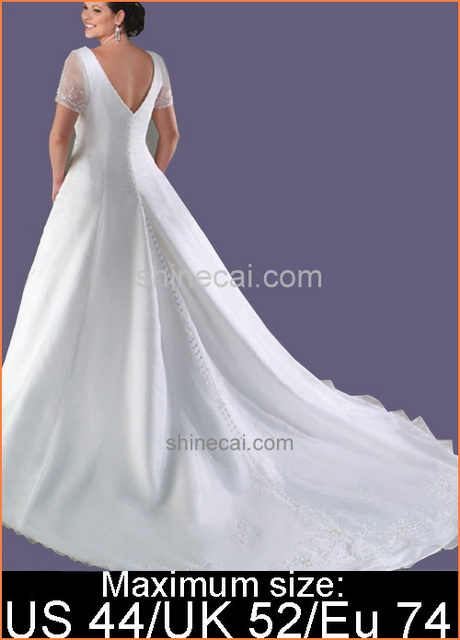 Plus Size Wedding Dresses Under 200 Dollars 8