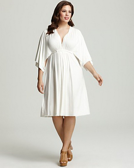Plus size white dresses for Plus size wedding dresses size 32 and up