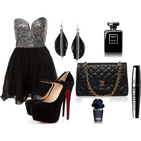 Polyvore black dress