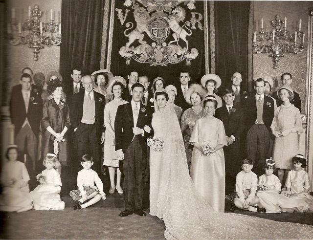 Princess Alexandra of Kent and Angus Ogilvy 1963 Wedding