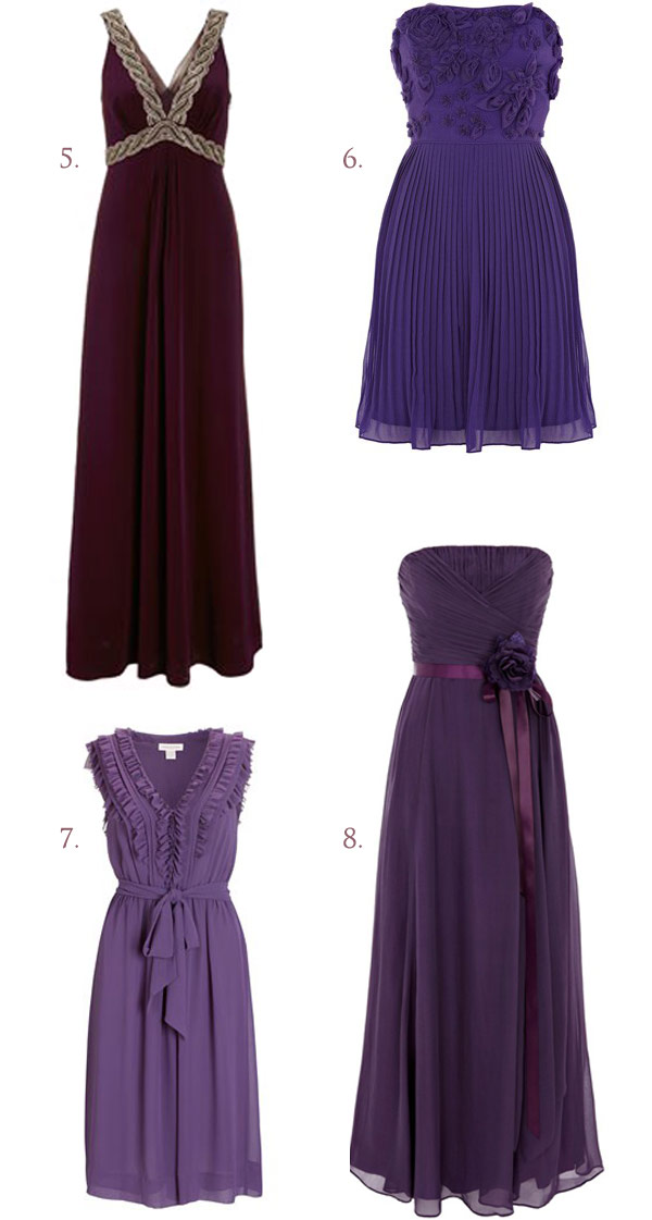 Purple Bridesmaid Inspiration (2)