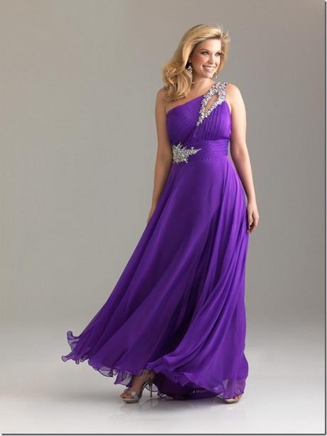 Purple Plus Size Dresses