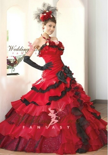 red and black wedding dress ball gown wedding dresses collection
