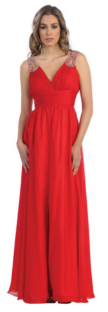 A Simple & stylish Evening dress- MQ642