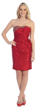 A simple stylish bridesmaid dress- MQ788