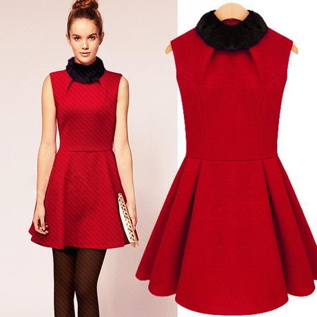 Vintage 50s Red Party Dress XXS Red Mini Dress Christmas Dress