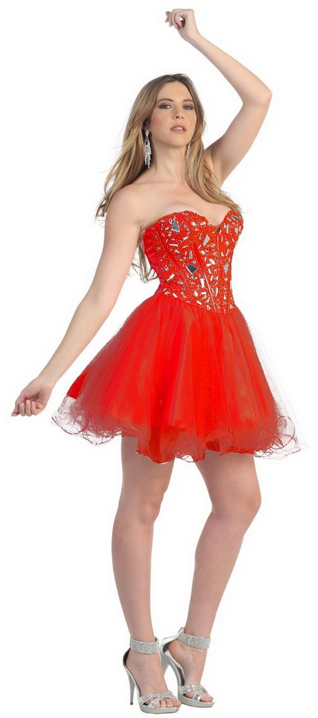 Red Dress For Juniors