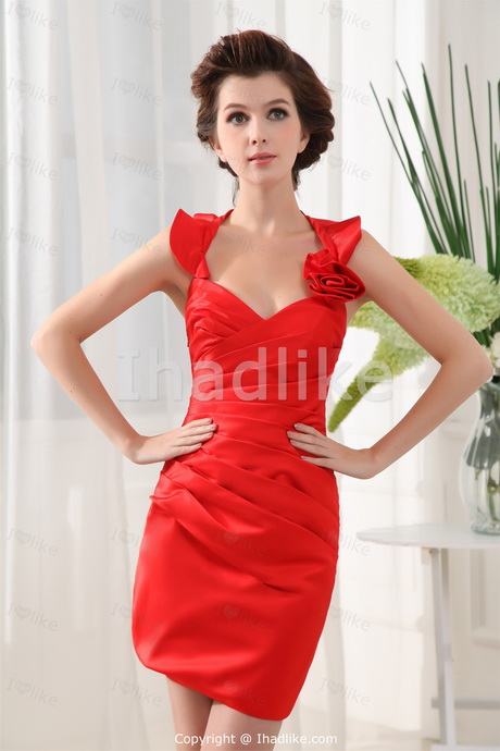 Red Dress For Wedding Guest