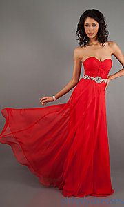 Buy Elegant Strapless Floor Length Dress at SimplyDresses