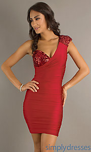 Buy One Shoulder Sexy Atria Dress at SimplyDresses