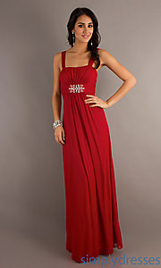 Buy Sleeveless Floor Length Gown at SimplyDresses