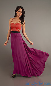 Buy Spaghetti Strap Floor Length Dress at SimplyDresses