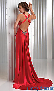 Buy Sexy Red Prom Dress by Flirt at SimplyDresses