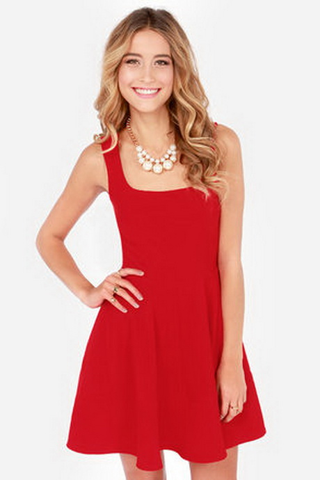 Red holiday dresses juniors discount evening