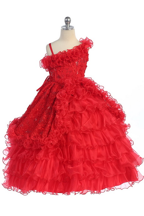 Red dresses for kids