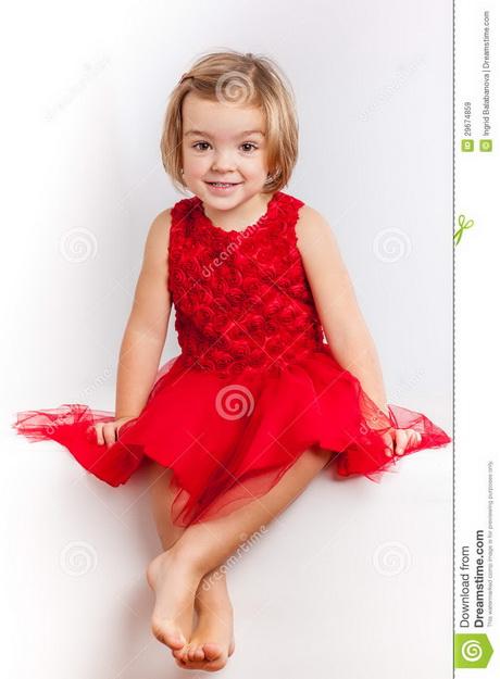 Red dresses for little girls
