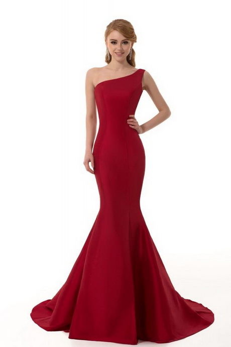 Prom Dresses Red Mermaid 76