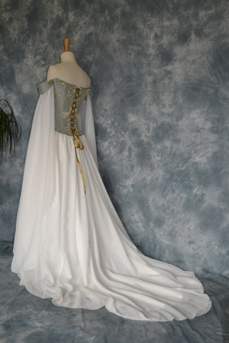 Renaissance bridal gowns for Medieval inspired wedding dresses