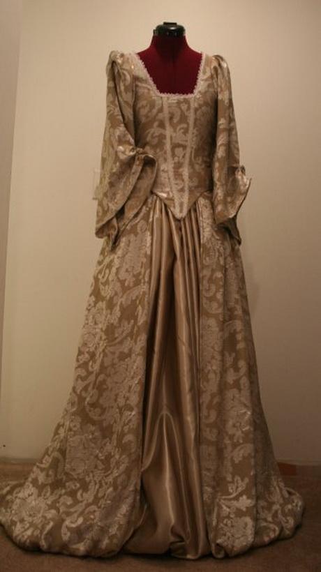 Renaissance gowns for Tudor style wedding dress