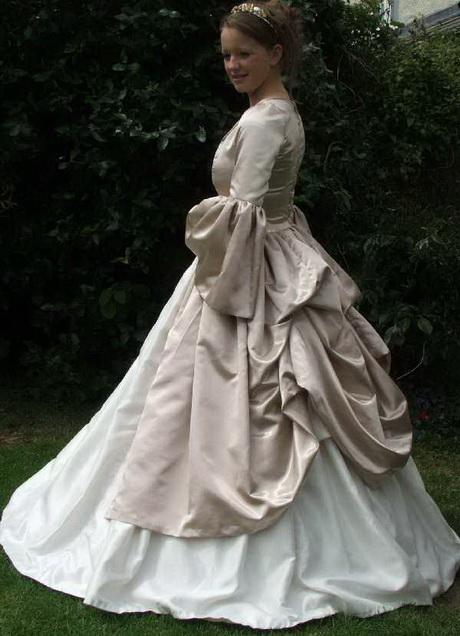 Renaissance wedding gowns