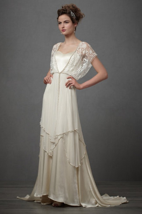 Retro style wedding dresses for Vintage summer wedding dresses